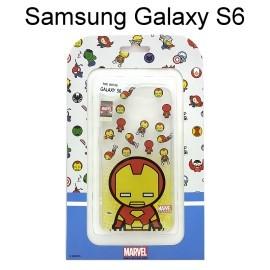 復仇者聯盟Q版透明軟殼 [鋼鐵人] Samsung G9200 Galaxy S6 【正版授權】