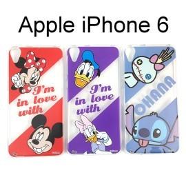 迪士尼透明軟殼 iPhone 6 / 6S (4.7吋) [最佳拍檔] 米奇 米妮 唐老鴨 史迪奇【Disney正版授權】