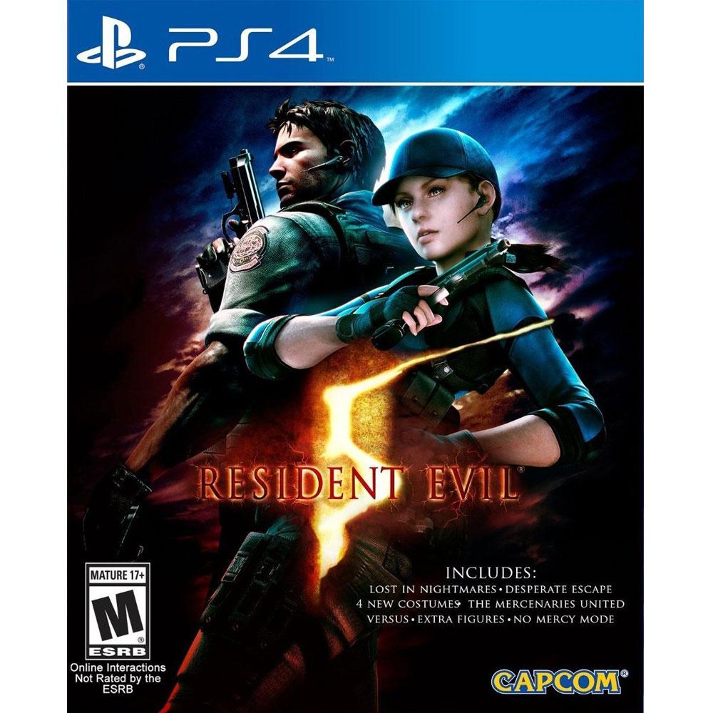 PS4 惡靈古堡 5 完整版 英文美版 (附所有DLC) RESIDENT EVIL 5 BIOHAZAR