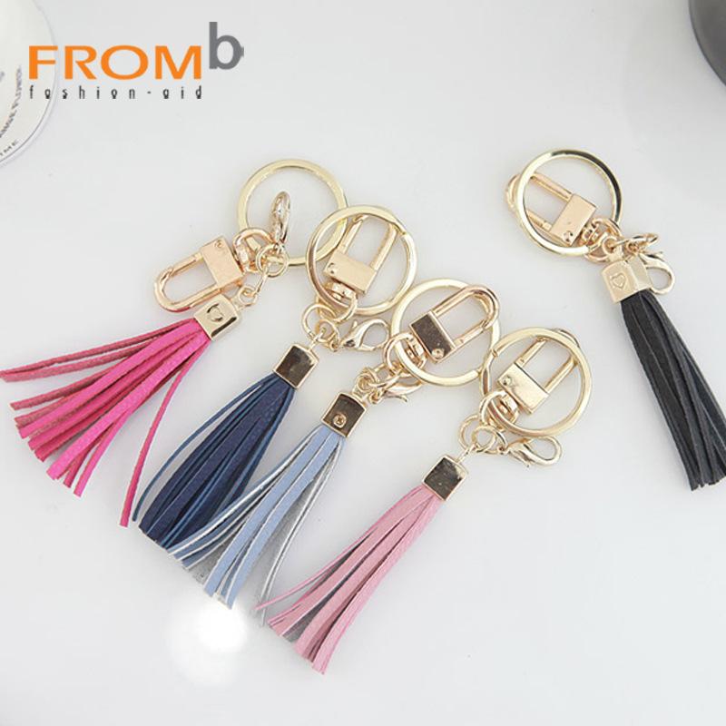 韓國FROMb正貨.時尚精品.流穌錀匙扣.摩納哥可愛包包小吊飾