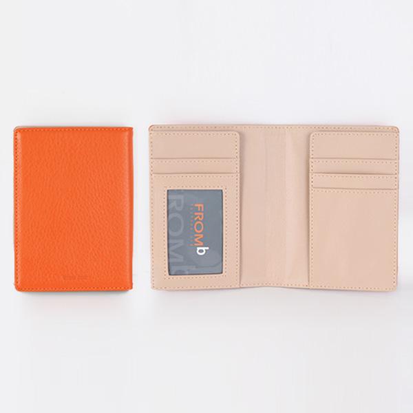 【橘子包舖G0780】韓國進口正品.真皮多卡位護照夾