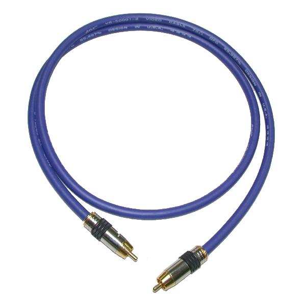 ANV【數位同軸線0.75公尺】高級藍色OFC(AS-200759A) 一條
