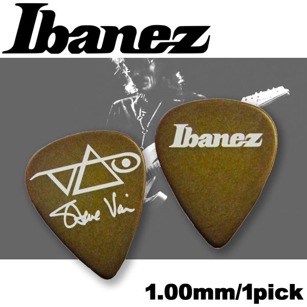 【非凡樂器】Ibanez 日本製彈片pick【Steve vai簽名款1000SVBR】1.00mm