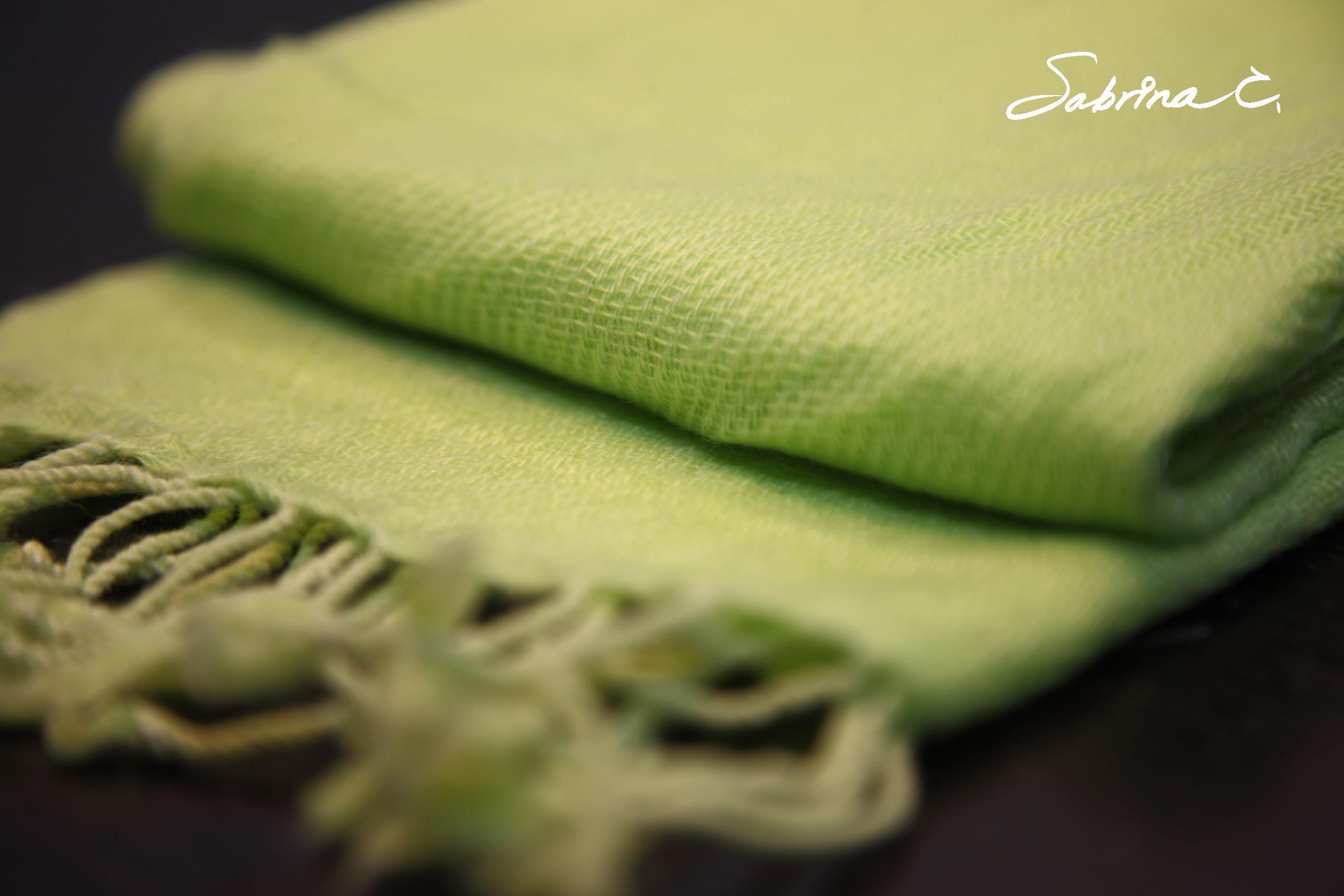 Cashmere迷你厚織圍巾(14061)