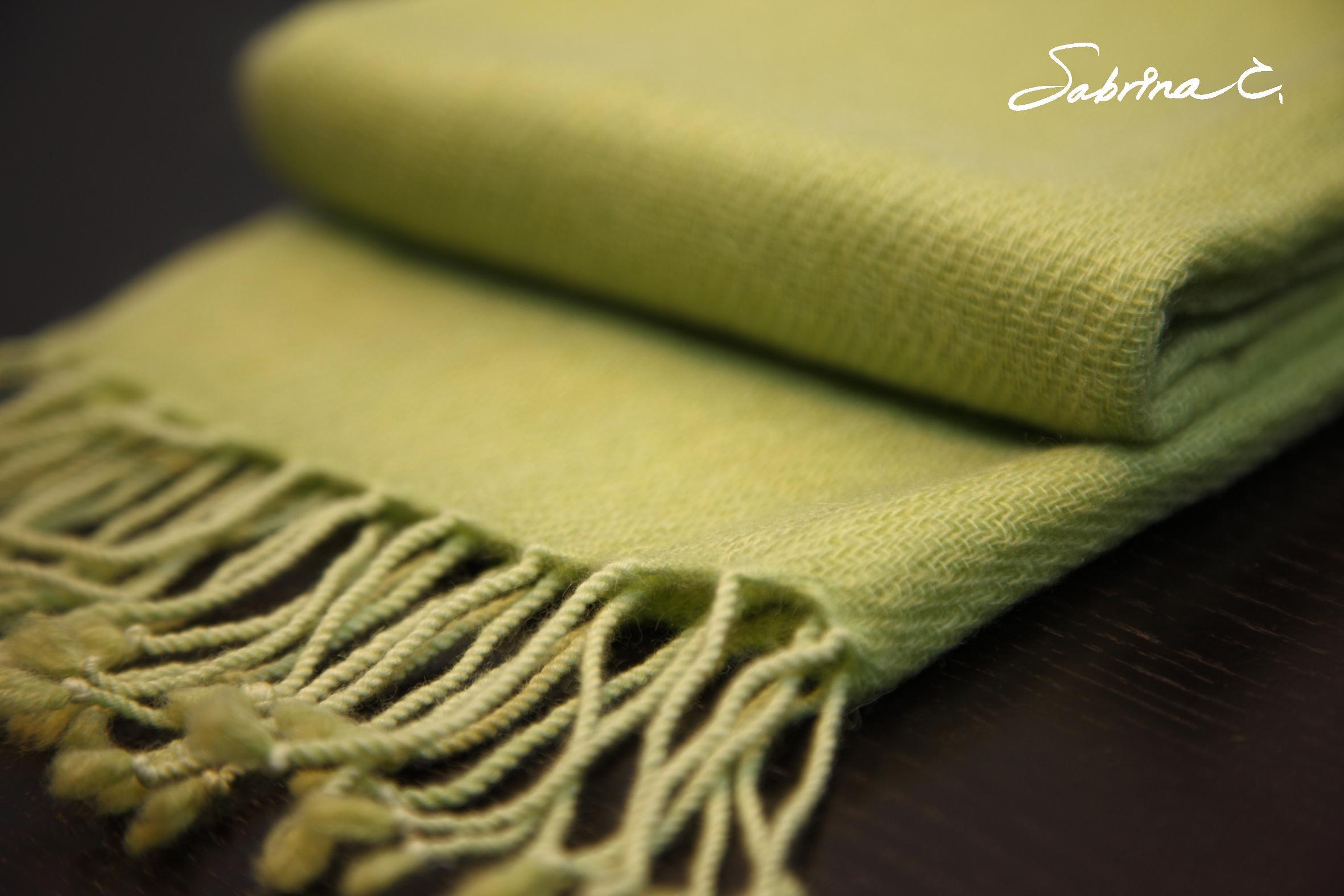 Cashmere迷你厚織圍巾(14063)