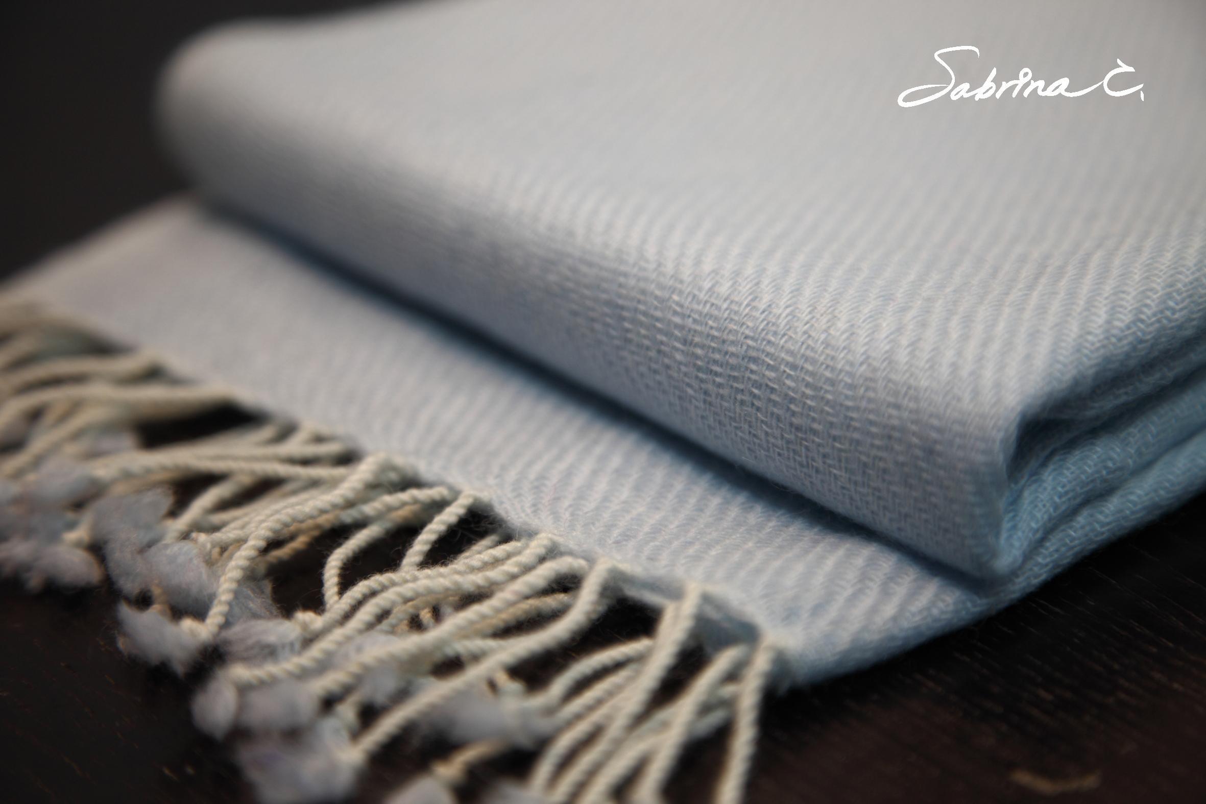 Cashmere迷你厚織圍巾(14074)