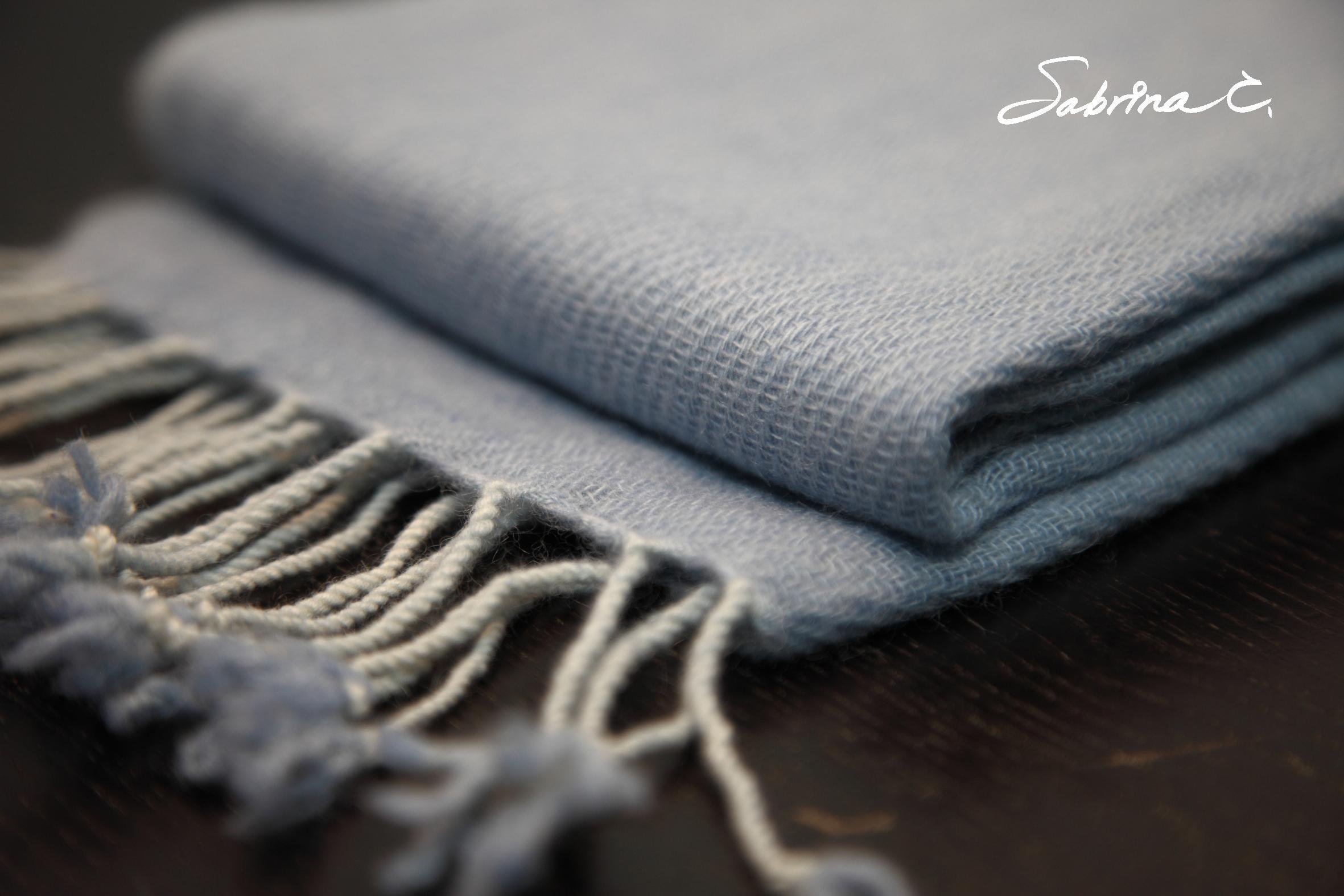 Cashmere迷你厚織圍巾(14075)
