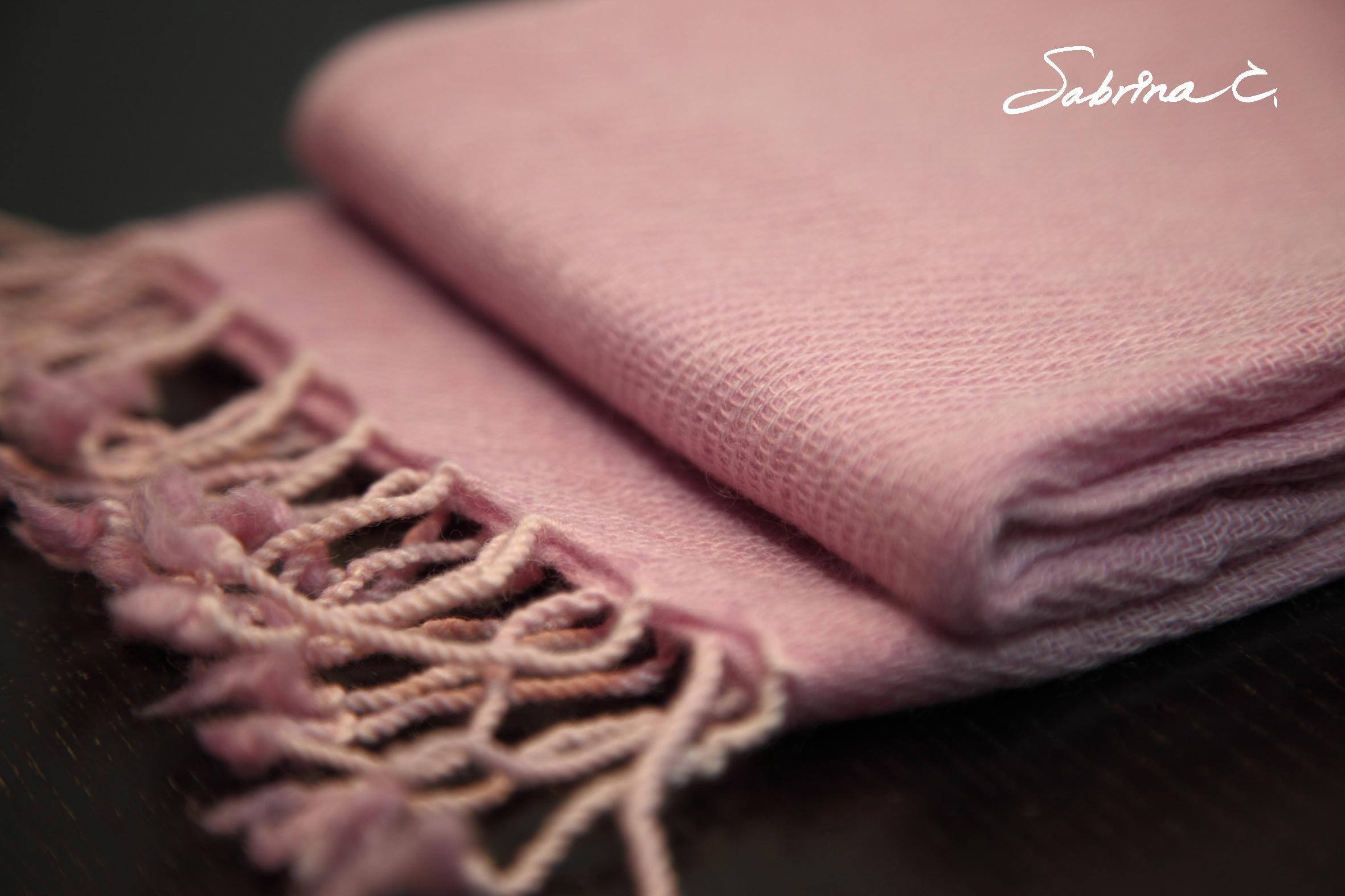 Cashmere迷你厚織圍巾(14080)
