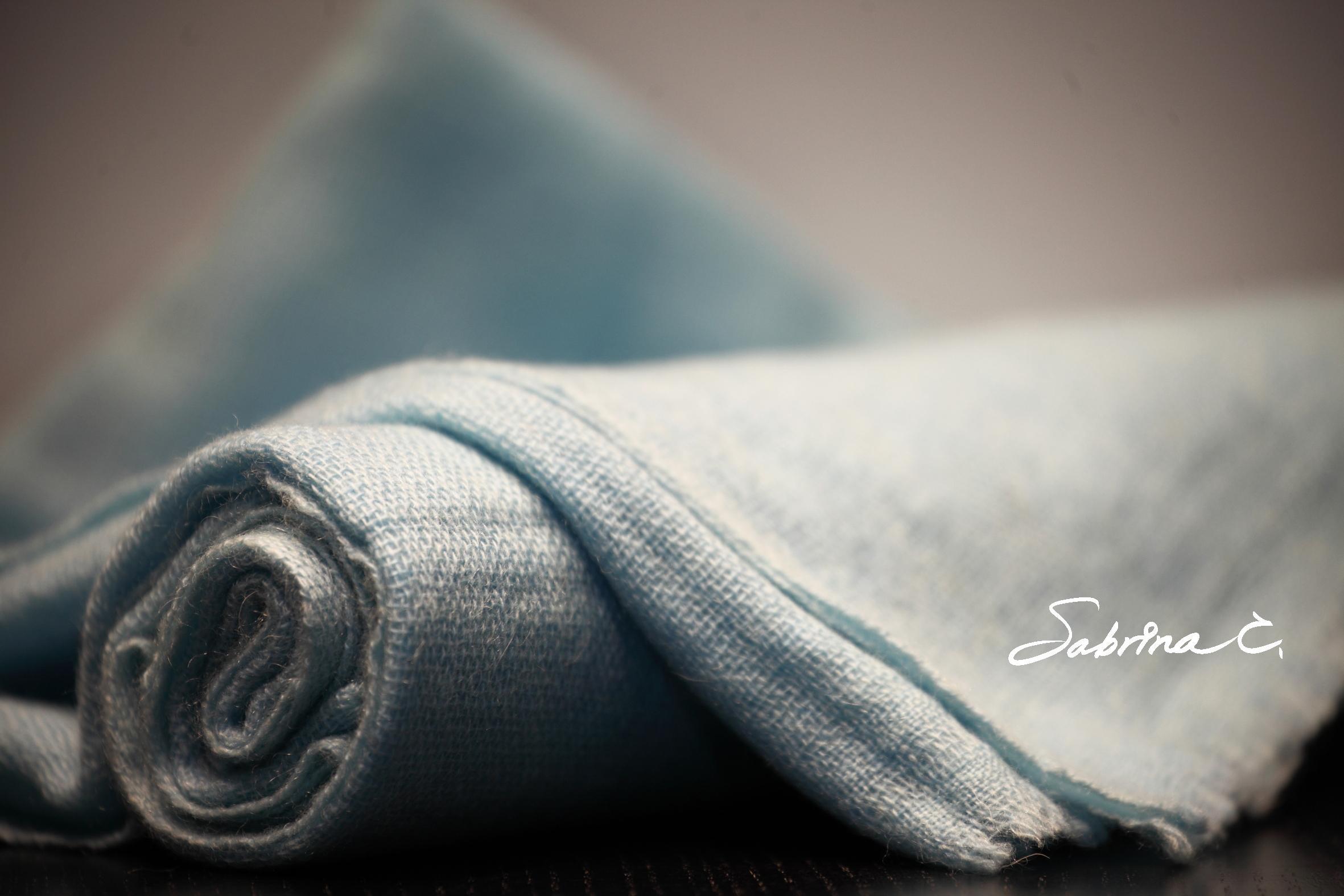 【Sabrina C】Cashmere薄織圍巾(16059)