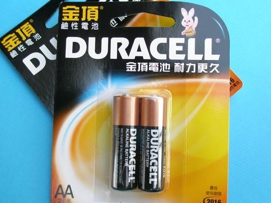 金頂電池AA-3號鹼性電池2個入/一卡入{促60}~~正台灣代理商進口~
