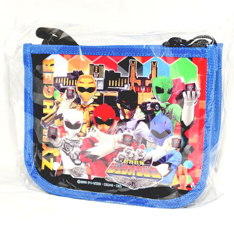 動物戰隊 獸王者 斜背包 零食包 內附兩包零食 日本正版商品