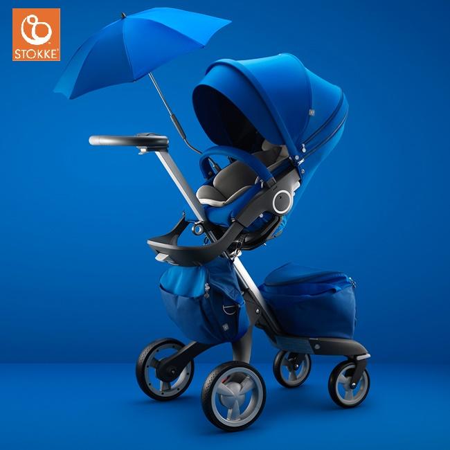 【全台限量】挪威【Stokke】Xplory 經典嬰兒車- 寶石藍