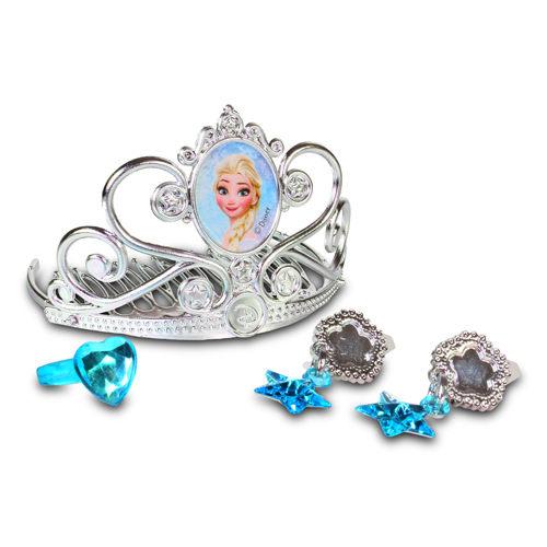 冰雪奇緣新皇冠珠寶組/ Tiara and Jewelry Set / cosplay/ 艾莎/ ELSA/ 迪士尼/ 伯寶行