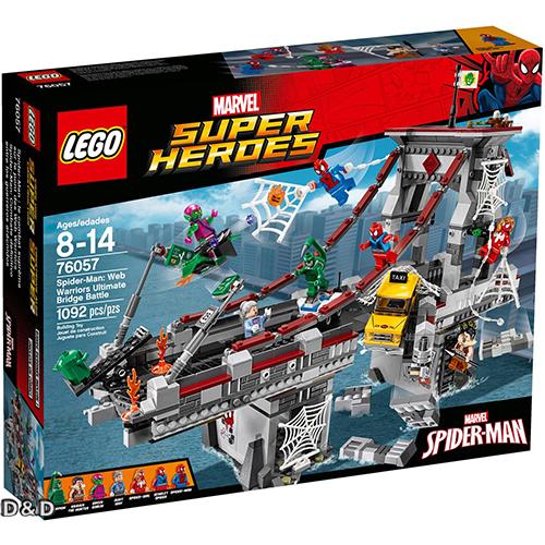 樂高積木LEGO《 LT76057 》SUPER HEROES 超級英雄系列 - 蜘蛛人 : Web Warriors Ultimate Bridge