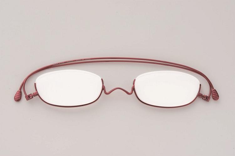 【圓方視集】日本paperglass (型號:UNDER-RIM) 紅色
