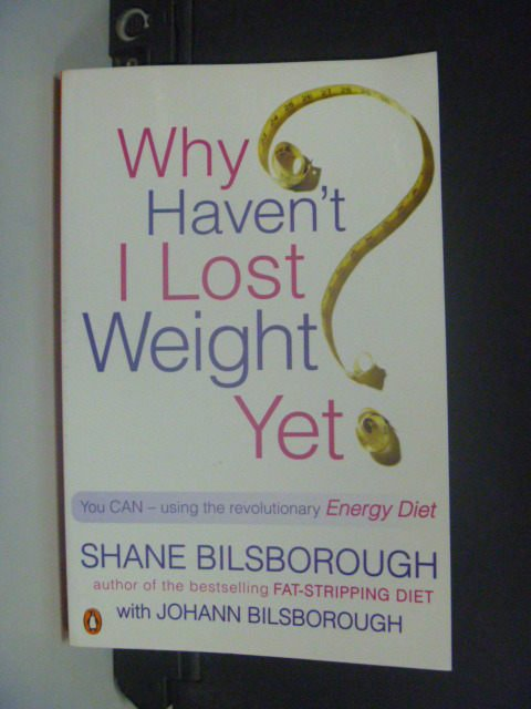 【書寶二手書T9/美容_KGZ】Why Haven't I Lost Weight Yet