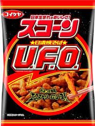 【日本湖池屋】UFO炒麵風味馬鈴薯脆果 70g