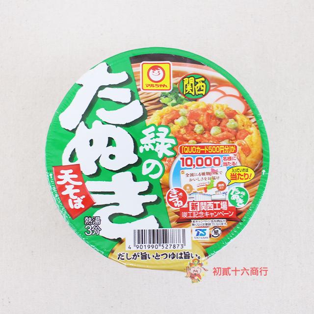 【0216零食會社】東洋水產_豆皮天婦羅碗麵101g