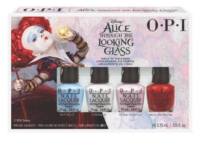 【彤彤小舖】OPI Alice 愛麗絲魔境夢遊系列 魔境夢遊迷你組 4瓶裝 2016春夏款