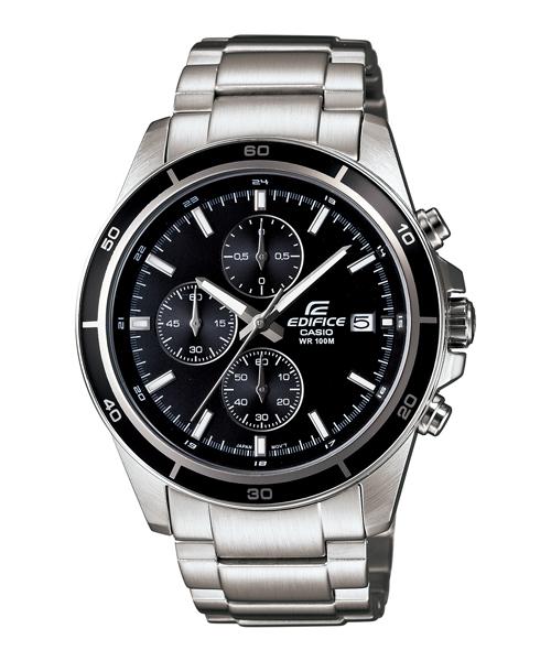 CASIO EDIFICE EFR-526D-1A青春時尚流行腕錶/黑面44mm