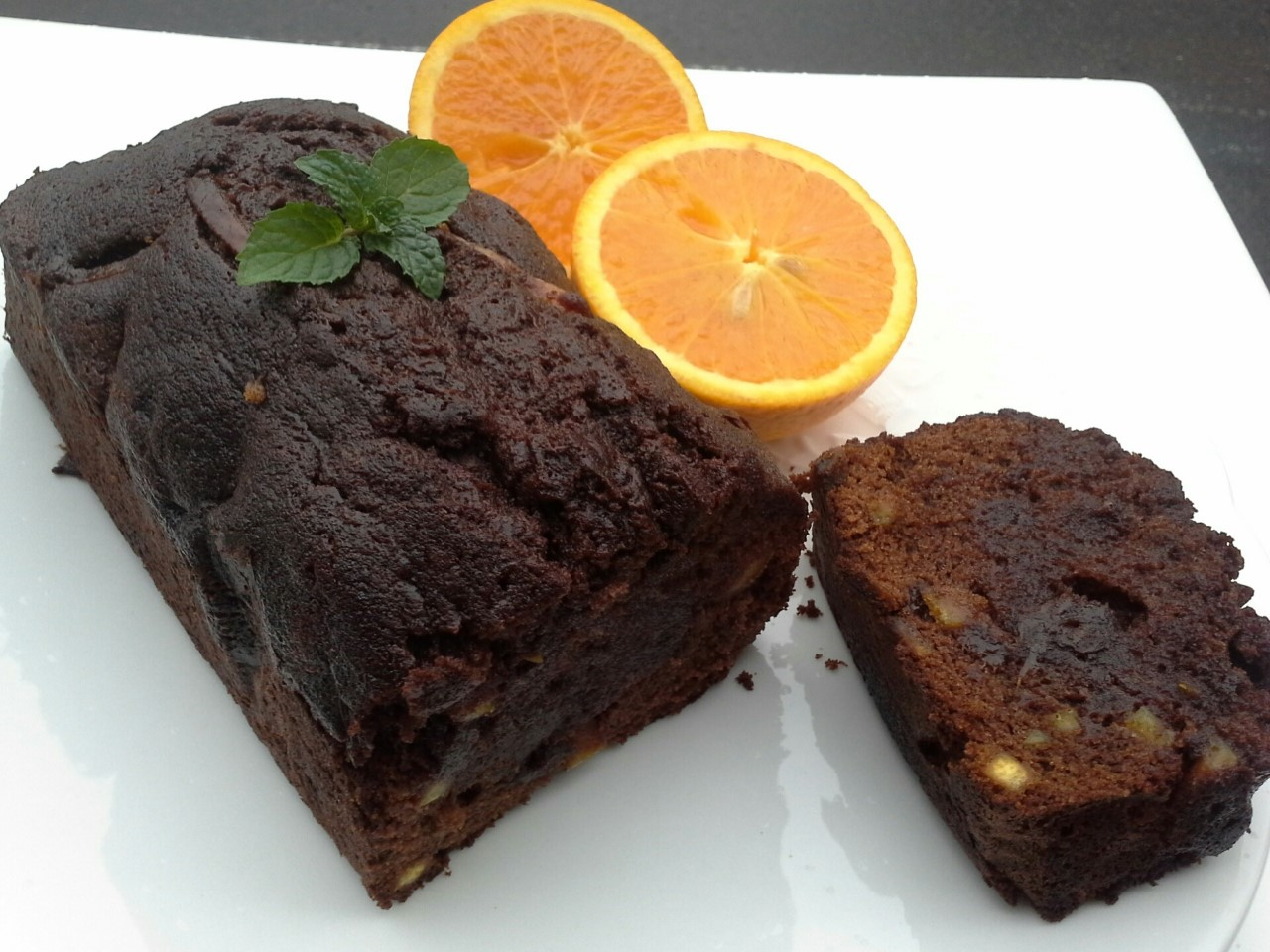 【Honeys 】巧克力橙香橘子磅蛋糕 (450g) 法國進口100%法芙娜巧克力