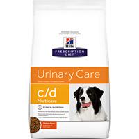 Hill's希爾思處方飼料│犬用c/d 狗CD 泌尿道處方 膀胱健康Multicare 17.6LB/17.6磅/8KG  (似皇家處方LP18)