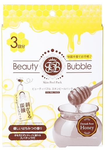 日本 Beauty Bubble 碳酸溫泉面膜 蜂蜜 3片入 2015全新版 *夏日微風*