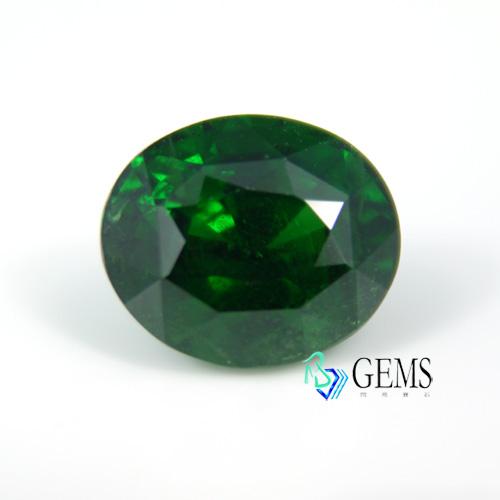 天然彩寶 天然沙弗萊tsavorite4.73克拉 附國際IGI寶石鑑定證書 Radiant Gems閃亮寶石