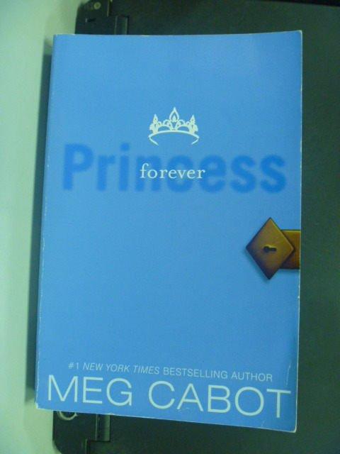 【書寶二手書T4/原文小說_KLI】Forever Princess_Meg Cabot