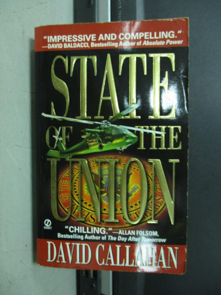 【書寶二手書T7/原文小說_NFM】State of the union_dacid callahan