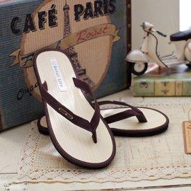 Betel Life 檳榔葉拖鞋-紐約風格【Cozy Bronze 古銅灰】LADIES 環保素材 舒爽除臭