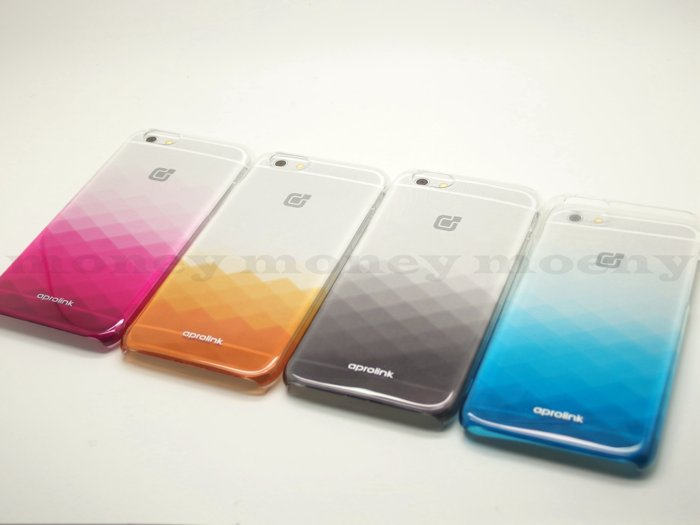 aprolink 童趣系列-菱格保護殼/Apple iPhone 6/6S 手機殼/PC殼/漸層殼/硬殼【馬尼行動通訊】