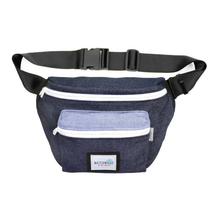 REMATCH - Matchwood Portable 腰包 側背包 斜背包 隨身包 原色丹寧牛仔款 旅遊隨身 / 美式休閒 / 運動 / Outdoor / Jansport / Herschel 可參考