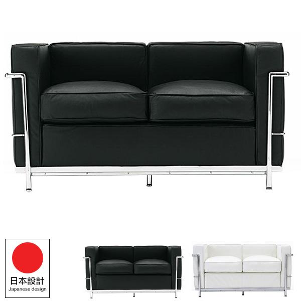 沙發 沙發床【Y0086】Le Corbusier柯比意大師設計雙人沙發  完美主義