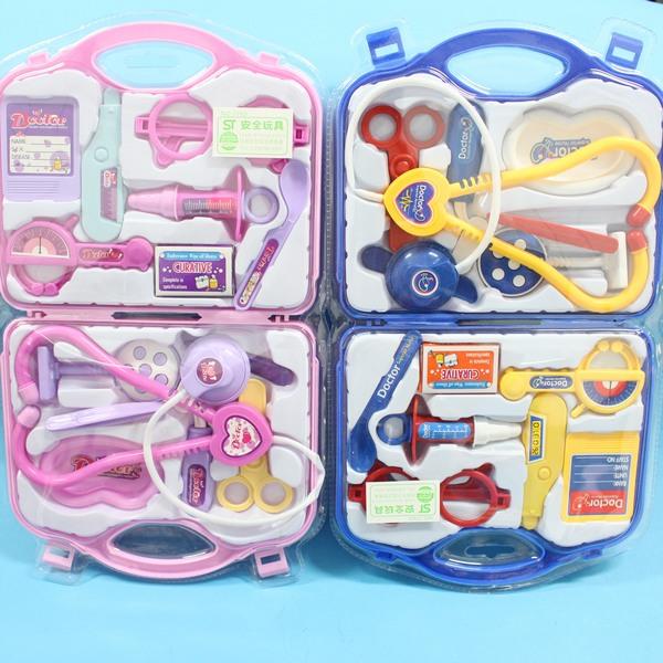 護士醫生遊戲玩具組 手提醫生組(中吊卡)/一盒入{促150}~ST安全玩具~創NO.7769