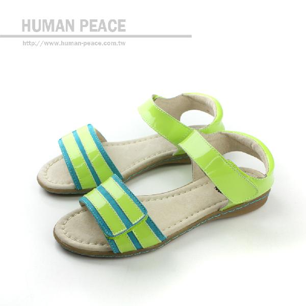 LIVIE&LUCA 涼鞋 綠 中童 no008