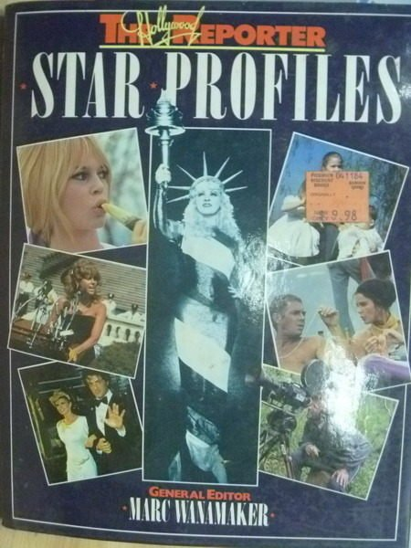 【書寶二手書T6/原文小說_YIO】Star Profiles_Marc Wanamaker