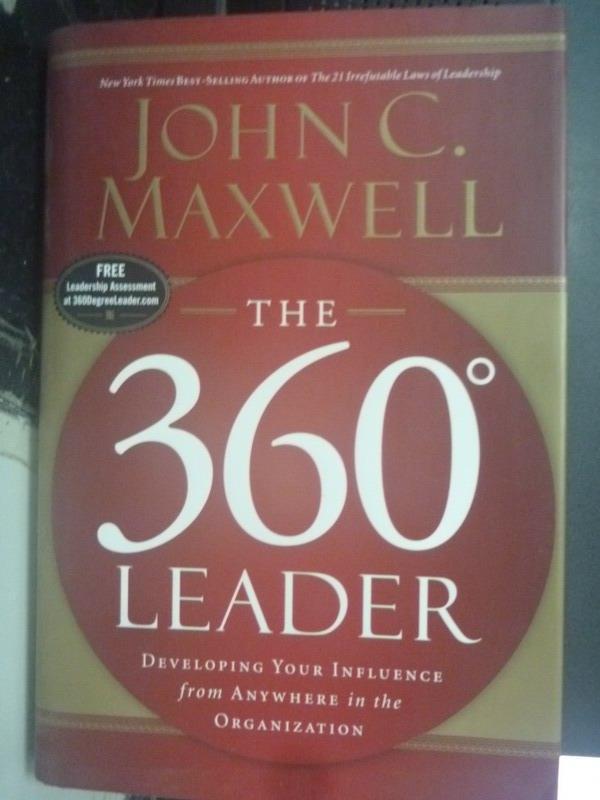 【書寶二手書T9/財經企管_ZHZ】The 360 Degree Leader_Maxwell, John C.