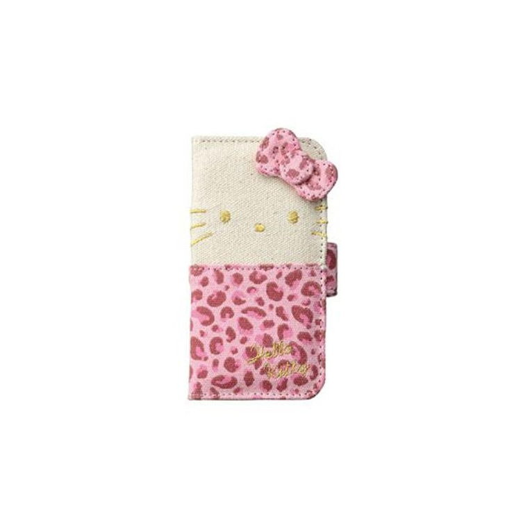 大田倉 日本進口正版iPhone5 5S 三麗鷗 凱蒂貓 Hello Kitty 手機殼 皮套 720450