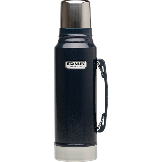【鄉野情戶外專業】 Stanley  美國   Stanley 經典真空保溫瓶 1L-藍_10-01254