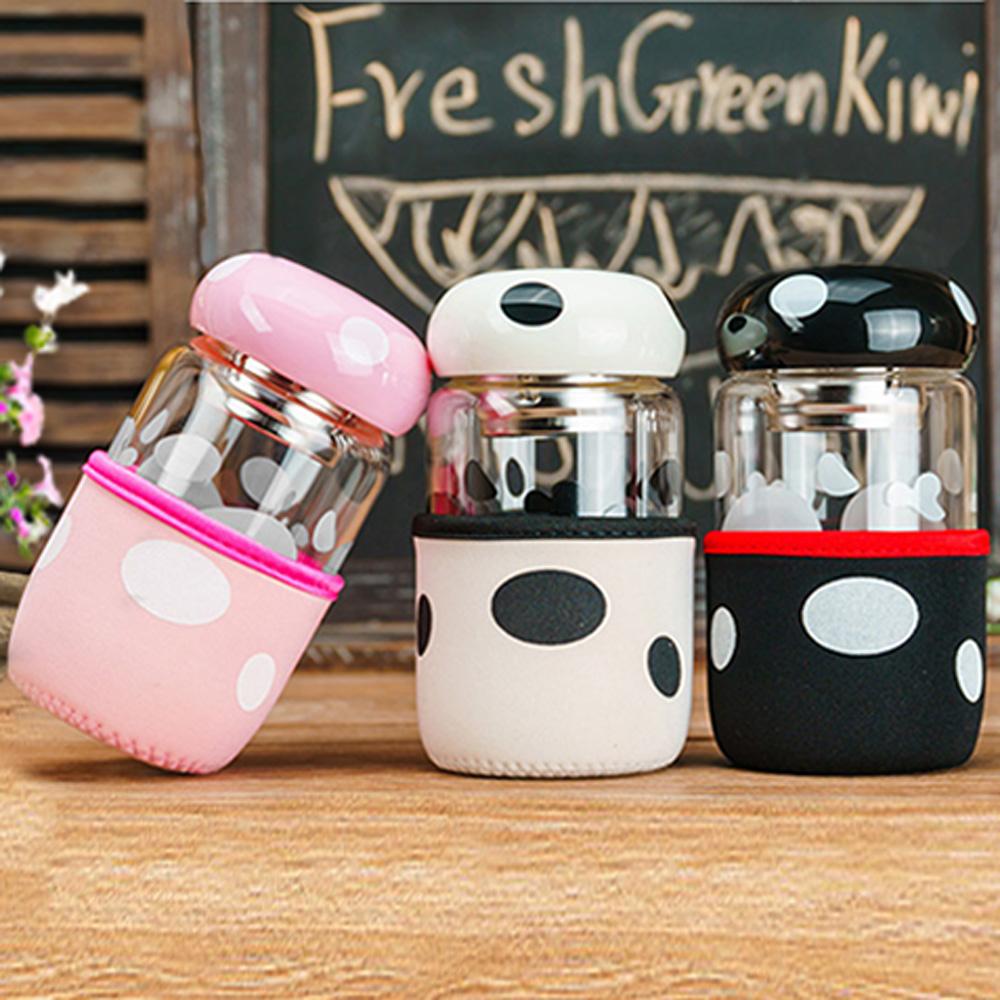 ►活動專區♥買二送一【巴芙洛】圓點蘑菇杯-300ml-三色可挑選
