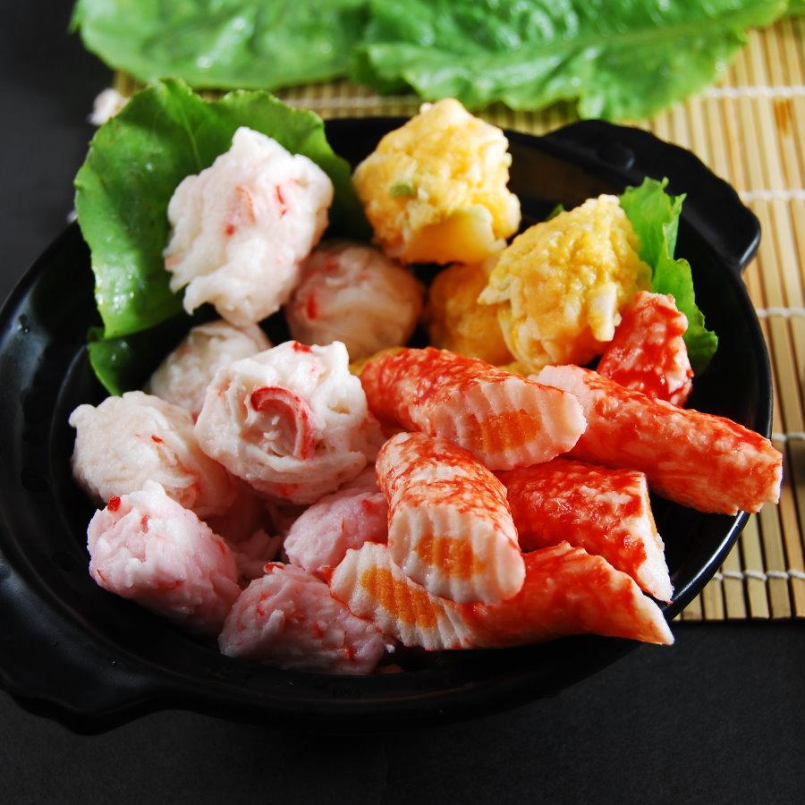 綜合包系列二【鮮之林嚴選日式鍋物】【500g】日式鍋物 火鍋料