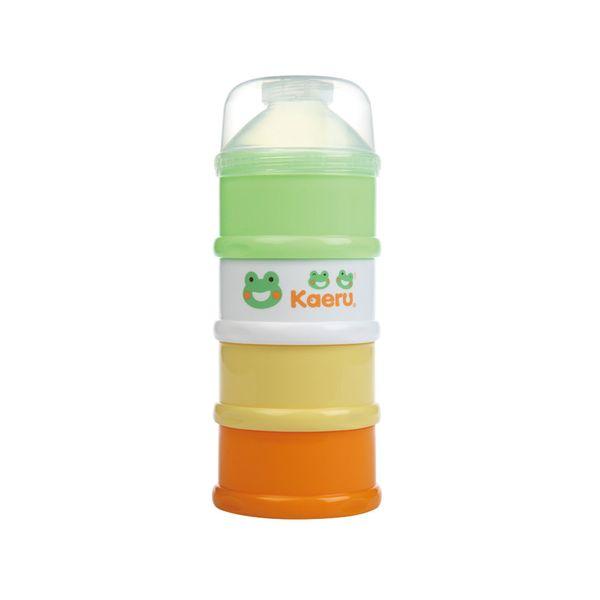 Kaeru哈皮蛙 - 彩色四層奶粉盒