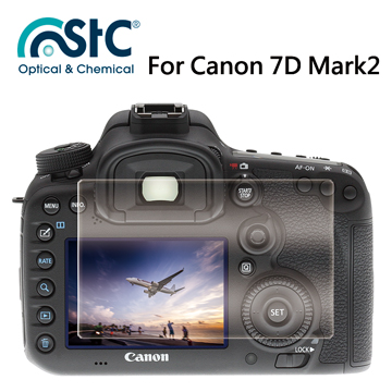 【STC】For Canon 7D Mark2 (2片式) - 9H鋼化玻璃保護貼