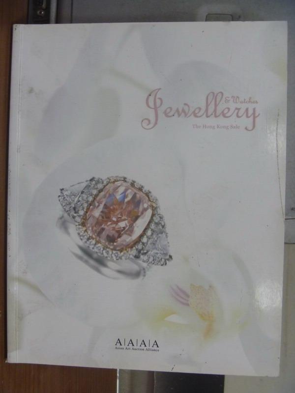 【書寶二手書T3/收藏_QLV】Jewellery watches the hong..._2010/11/28