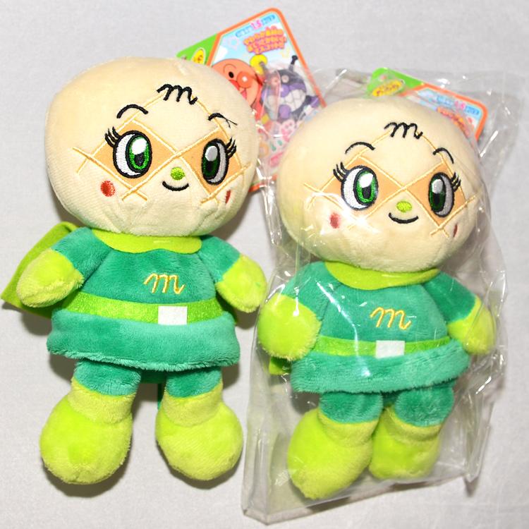 日本帶回 麵包超人  哈密瓜超人 絨布玩偶 正版商品