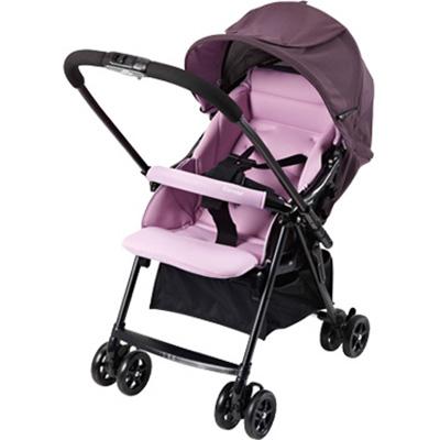 【悅兒樂婦幼用品舘】Combi 康貝 超輕量雙向嬰幼兒手推車 Cozy-柔紫
