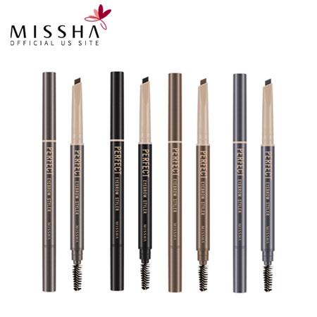 韓國 MISSHA 完美造型旋轉眉筆 0.35g 多色可選 雙頭 眉刷 眉筆【B061550】