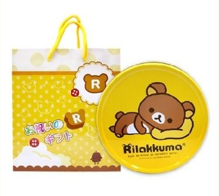 北日本 Hello Kitty/拉拉熊 餅乾禮盒 綜合餅乾禮盒 紙提袋 [JP00001]千御國際