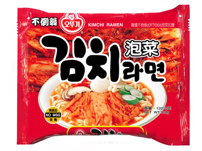有樂町進口食品 韓國進口 不倒翁泡菜拉麵泡麵-單包~韓國泡麵
